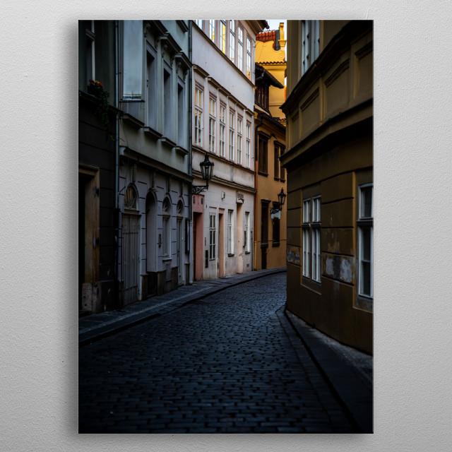 Prague metal poster