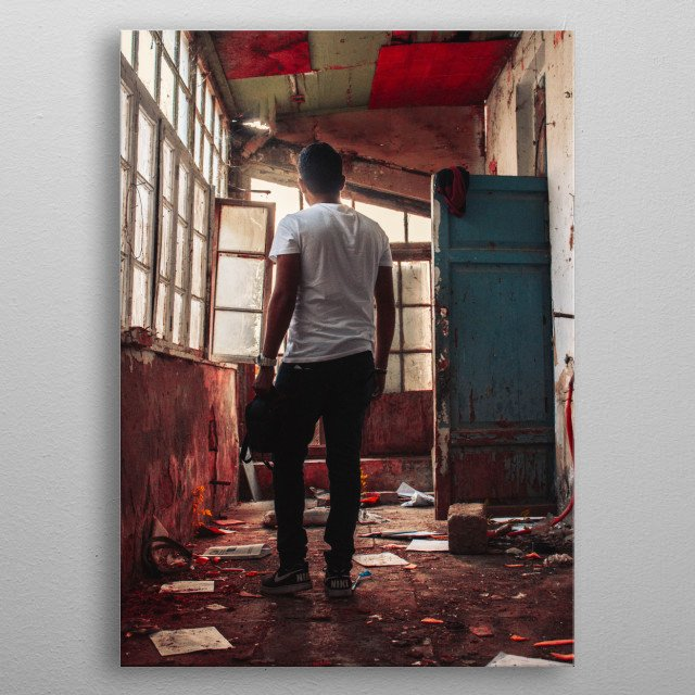 High-quality metal wall art meticulously designed by Ulvi would bring extraordinary style to your room. Hang it & enjoy. metal poster