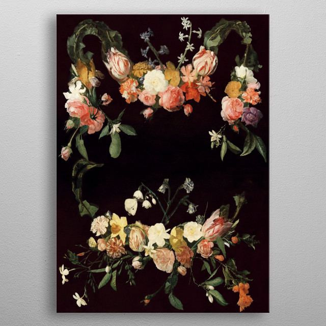Every hour of the light and dark is a miracle metal poster