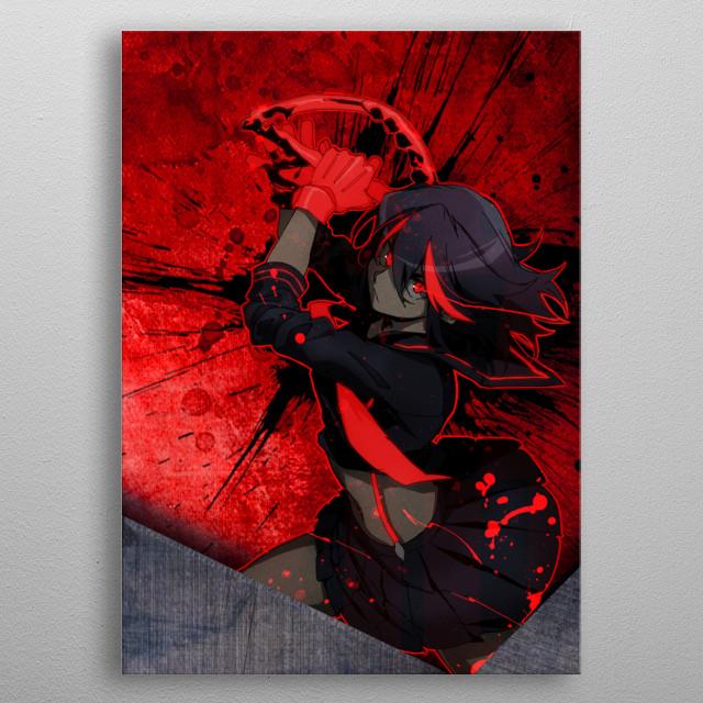 Matoi / Kill la Kill metal poster