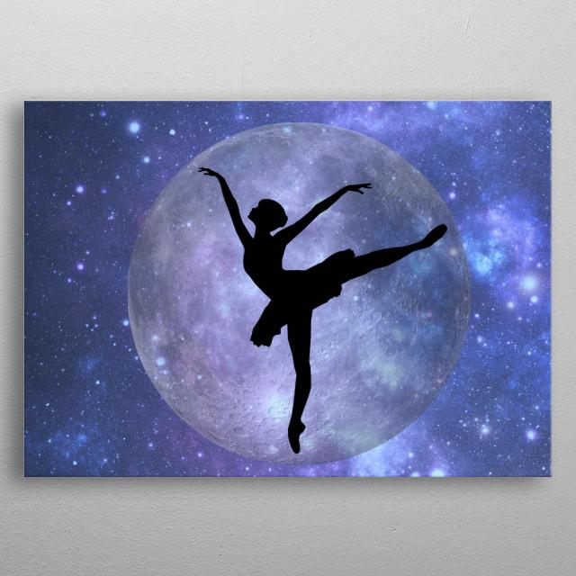 fantasy ballet metal poster