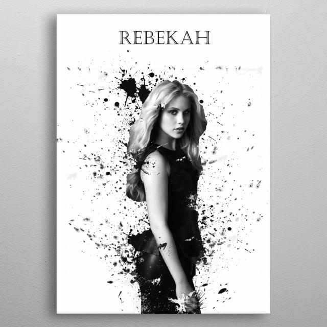 Rebekah Mikaelson metal poster
