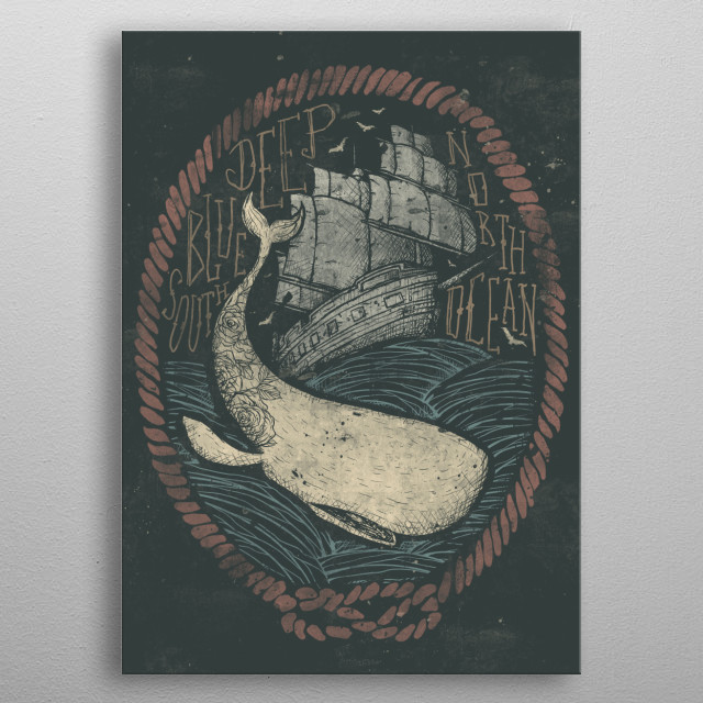 Fascinating  metal poster designed with love by mikekoubou. Decorate your space with this design & find daily inspiration in it. metal poster
