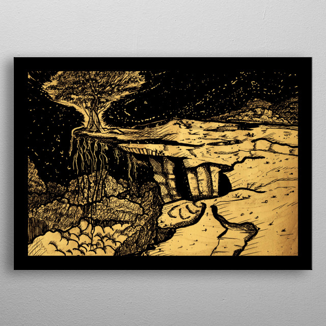 Clear Mind #35 metal poster