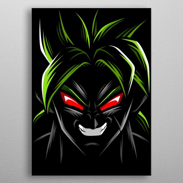 Legendary Demon metal poster