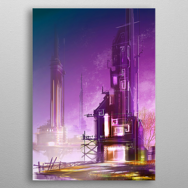 High-quality metal wall art meticulously designed by DARKNIFE would bring extraordinary style to your room. Hang it & enjoy. metal poster