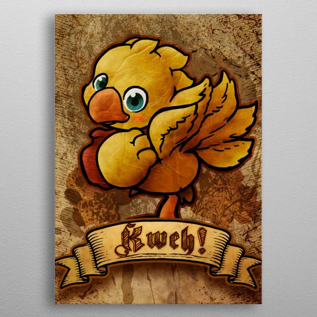Kweh ! metal poster