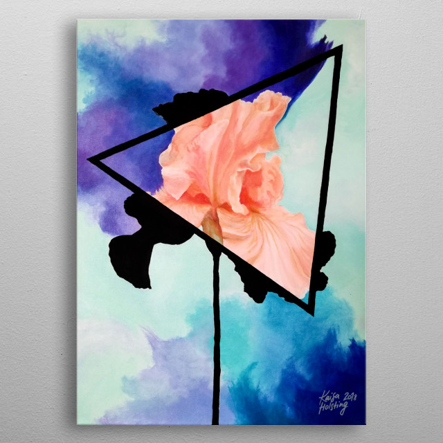 High-quality metal print from amazing Xray Flowers collection will bring unique style to your space and will show off your personality. metal poster