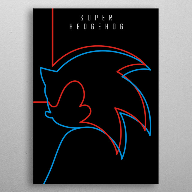 High-quality metal print from amazing Minimal Famous Character Poster collection will bring unique style to your space and will show off your personality. metal poster