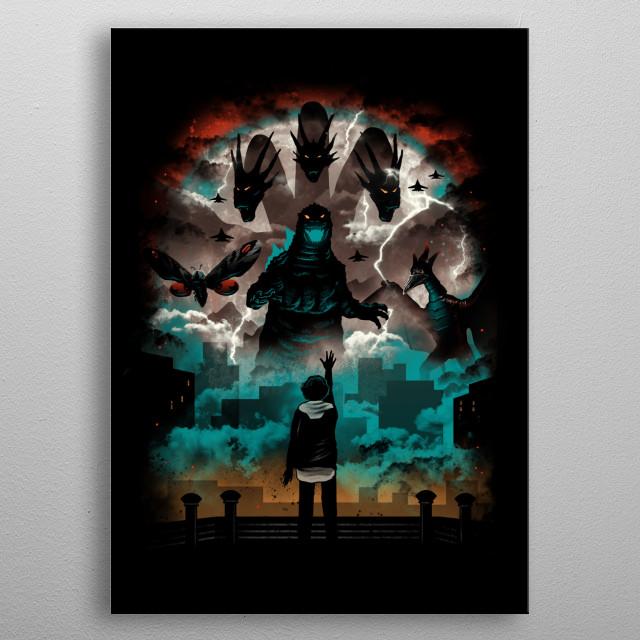 Strange Titans metal poster