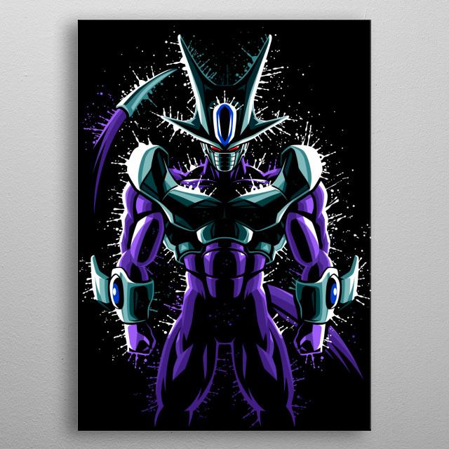 Splatter Cooler metal poster