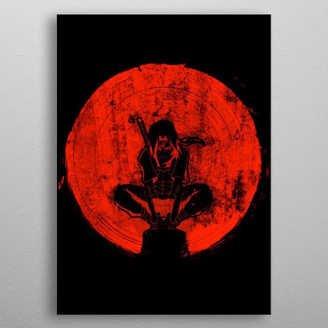 Red Sun Slaughter metal poster