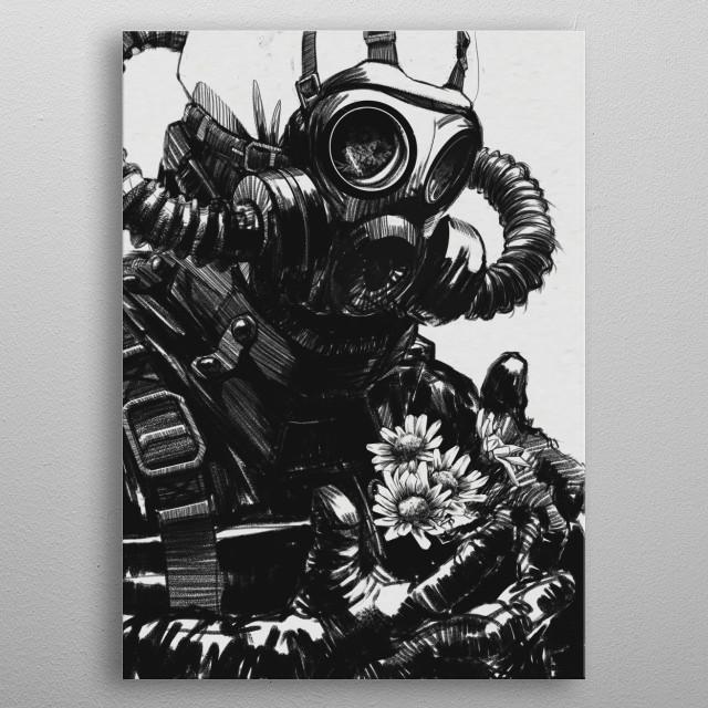 /DIVIDED/ metal poster