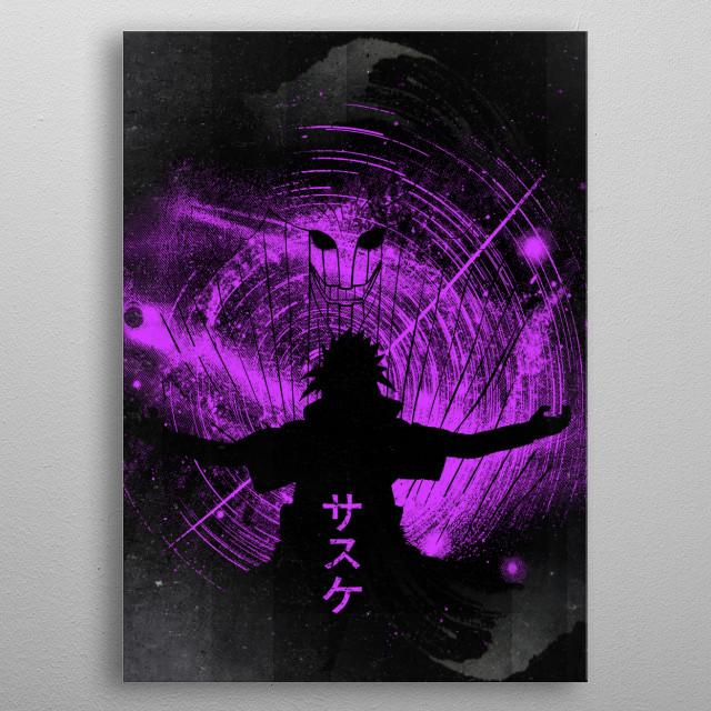 Space Ninja  metal poster