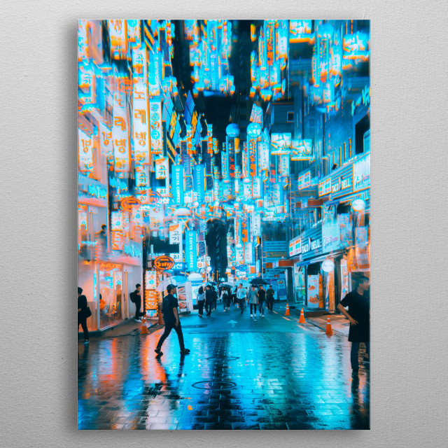 This marvelous metal poster designed by steveroe_92 to add authenticity to your place. Display your passion to the whole world. metal poster
