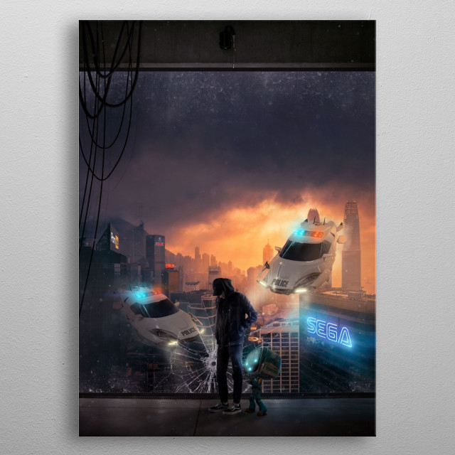This marvelous metal poster designed by sambeaup to add authenticity to your place. Display your passion to the whole world. metal poster