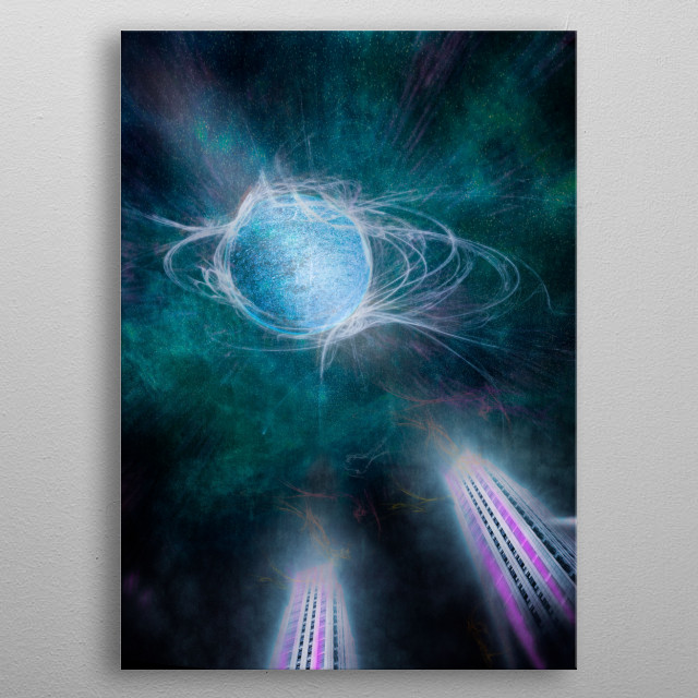 This marvelous metal poster designed by MarcoGonzalez to add authenticity to your place. Display your passion to the whole world. metal poster