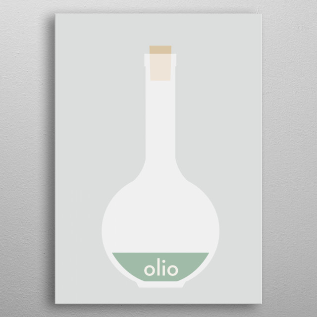 olio metal poster