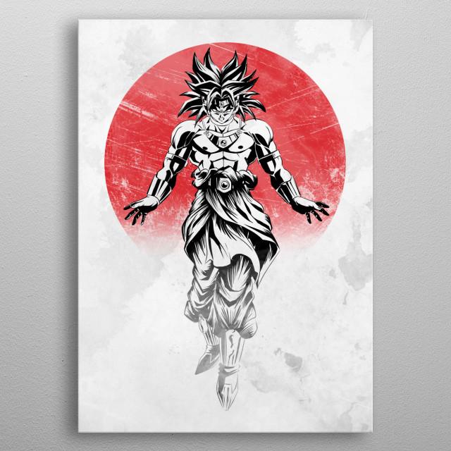 Legendary metal poster