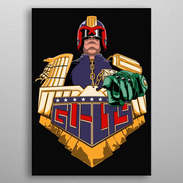 Guilty metal poster
