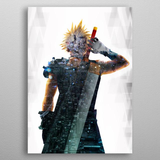 Soldier Living legacy  metal poster
