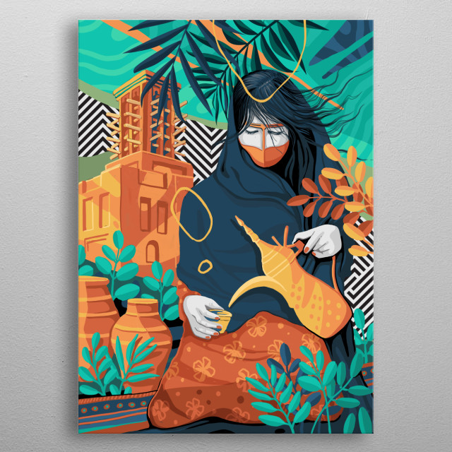 This marvelous metal poster designed by shahulart to add authenticity to your place. Display your passion to the whole world. metal poster