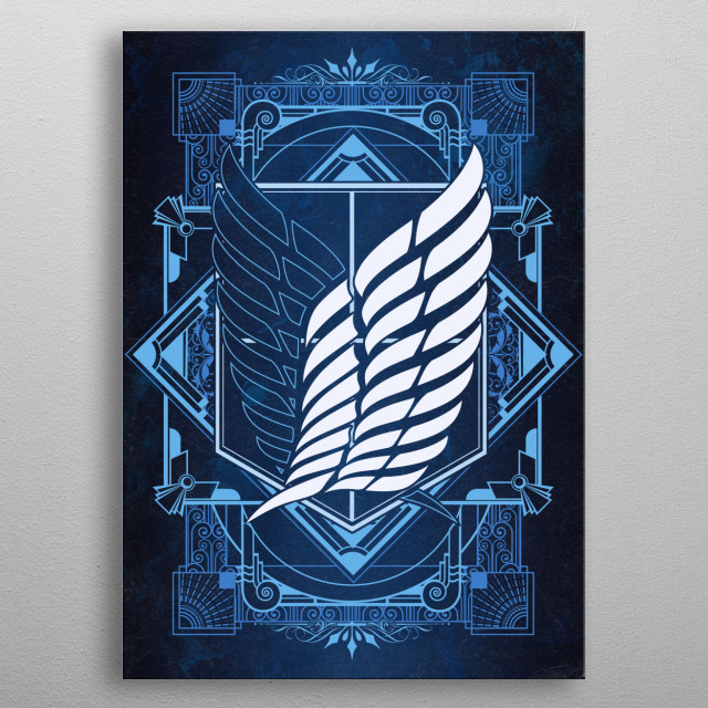 This marvelous metal poster designed by ChocolateRaisinFury to add authenticity to your place. Display your passion to the whole world. metal poster