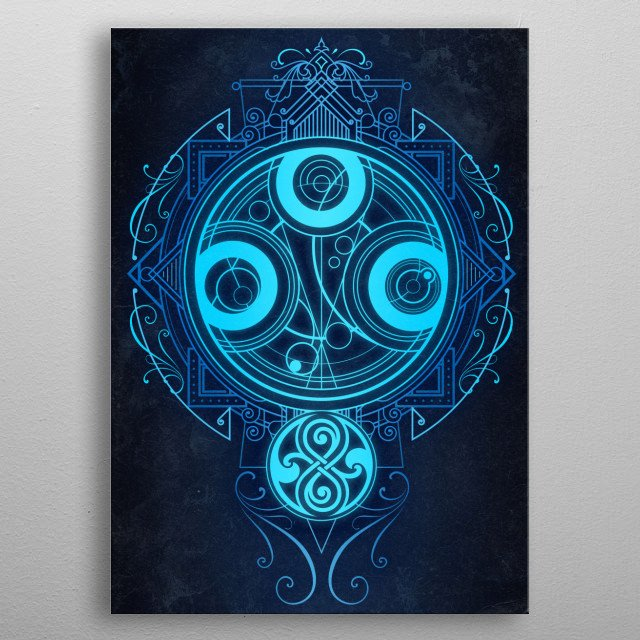 High-quality metal print from amazing Art Deco collection will bring unique style to your space and will show off your personality. metal poster