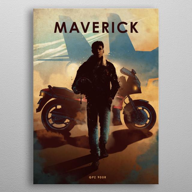 Maverick  metal poster
