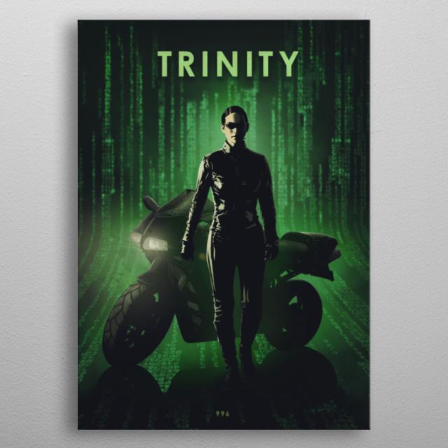 Trinity  metal poster
