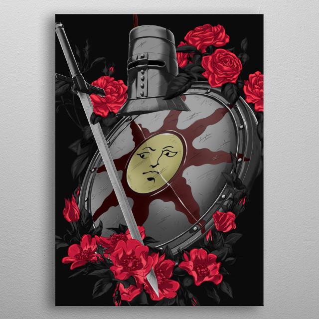 Goodbye Good Knight (Alt) metal poster