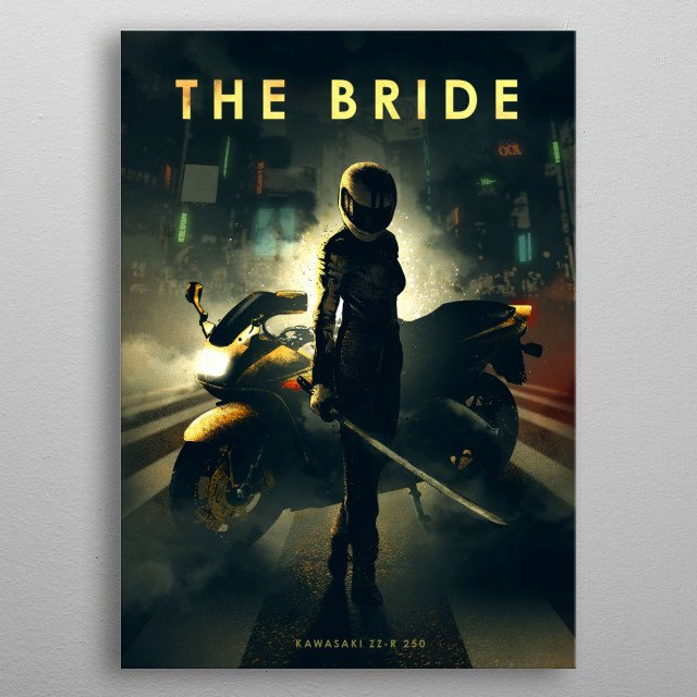 The Bride  metal poster