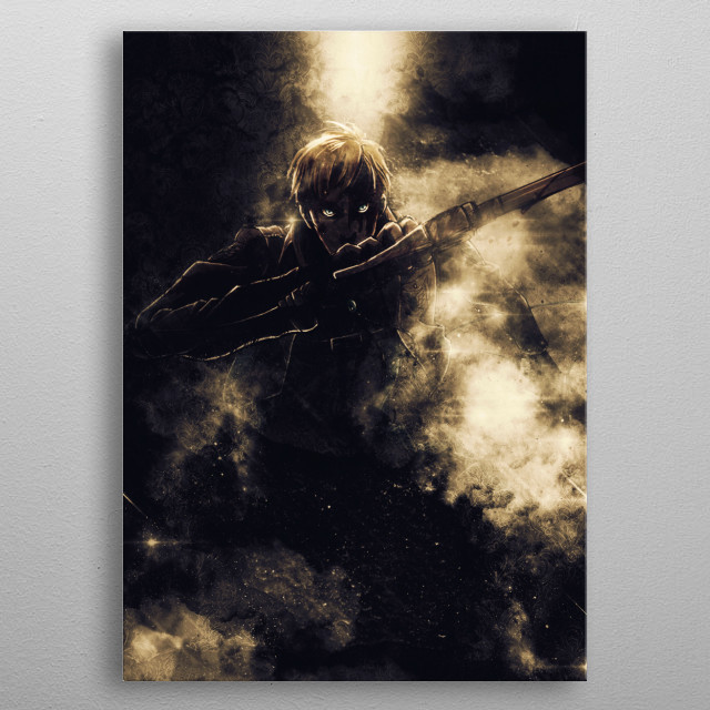SNK Resistance metal poster