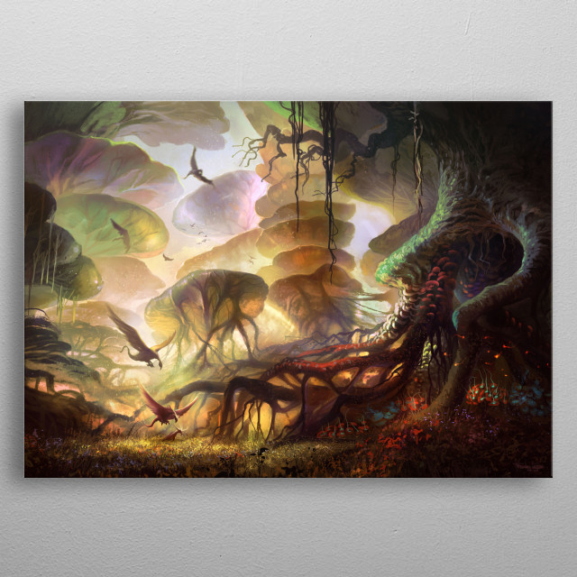 This marvelous metal poster designed by laderaprints to add authenticity to your place. Display your passion to the whole world. metal poster