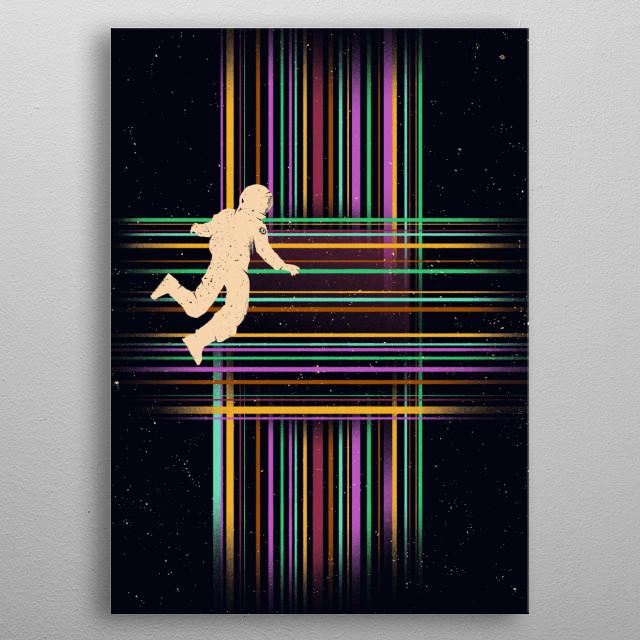The Tesseract metal poster