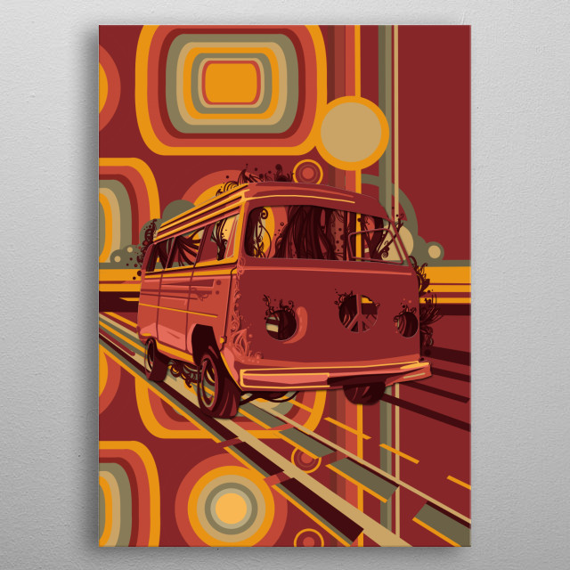 Fascinating  metal poster designed with love by BekimART. Decorate your space with this design & find daily inspiration in it. metal poster
