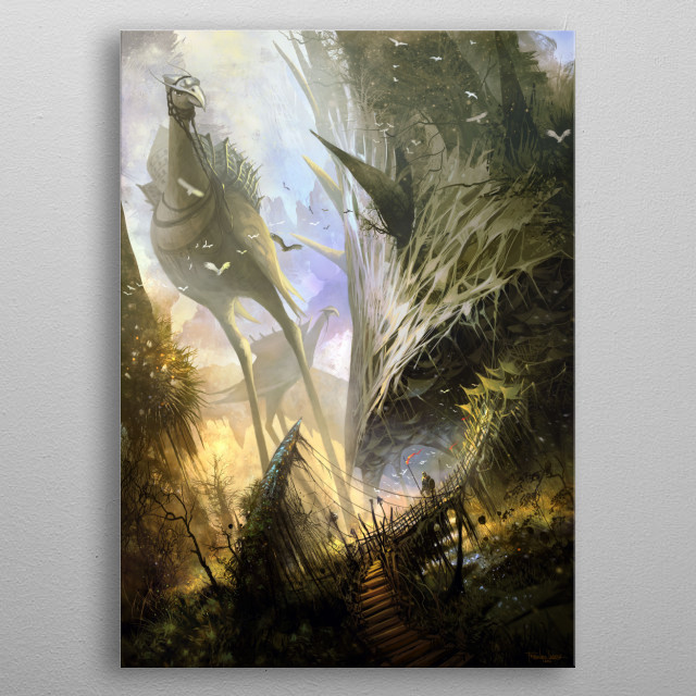 Fascinating  metal poster designed with love by laderaprints. Decorate your space with this design & find daily inspiration in it. metal poster