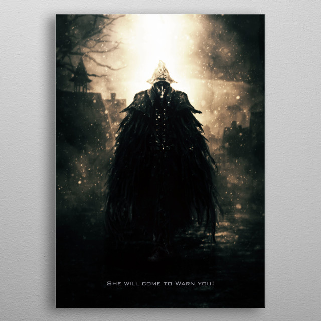 Eileen the Crow metal poster