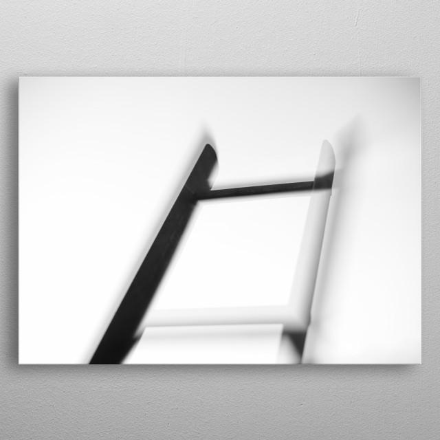 Ladder metal poster