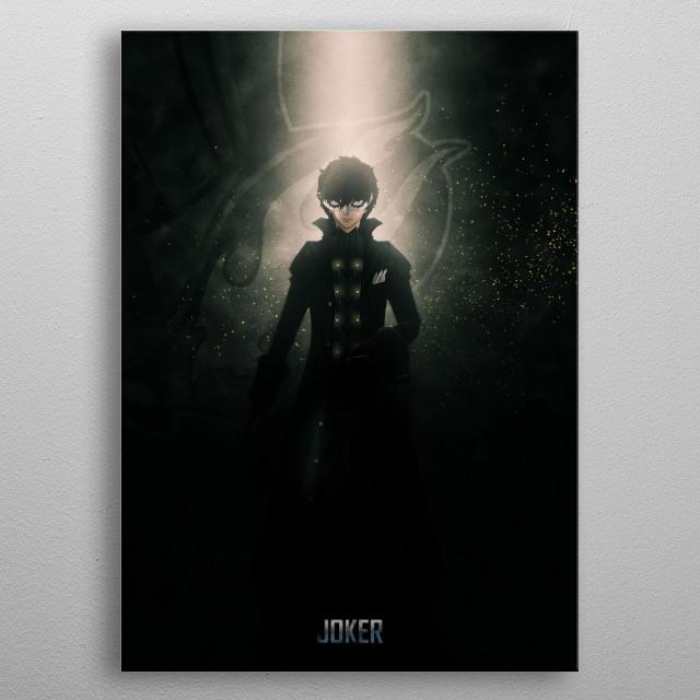 Persona 5 metal poster