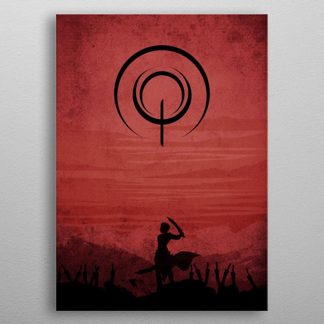 The Archer metal poster