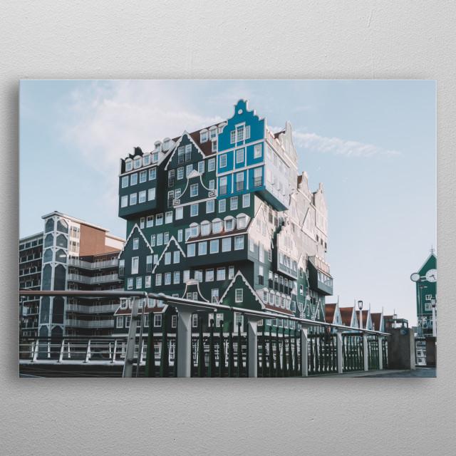 Zaandam, the Netherlands metal poster