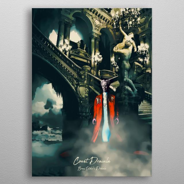 Count Dracula - Bram Stoker's Dracula metal poster