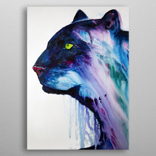 Fascinating metal poster designed by Marc Allante. Displate has a unique signature and hologram on the back to add authenticity to each design. metal poster