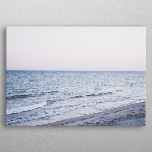 High-quality metal print from amazing Life Is A Beach collection will bring unique style to your space and will show off your personality. metal poster