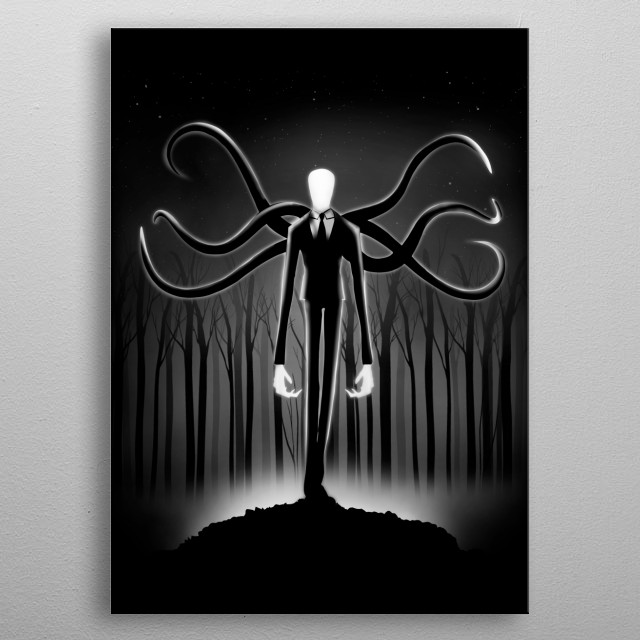 The Pale One metal poster