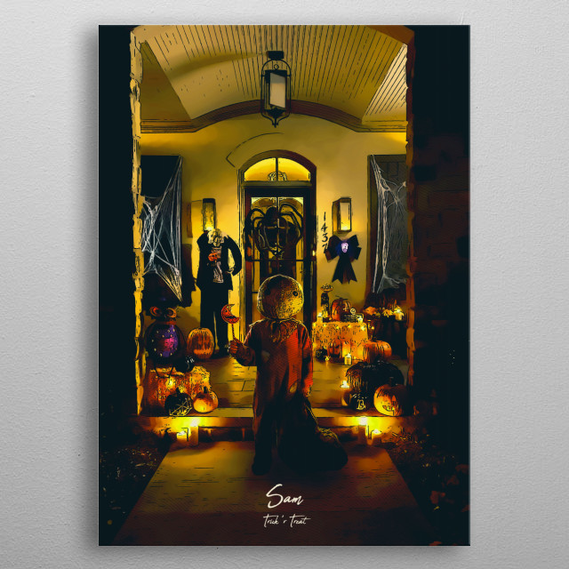 Trick r Treat metal poster