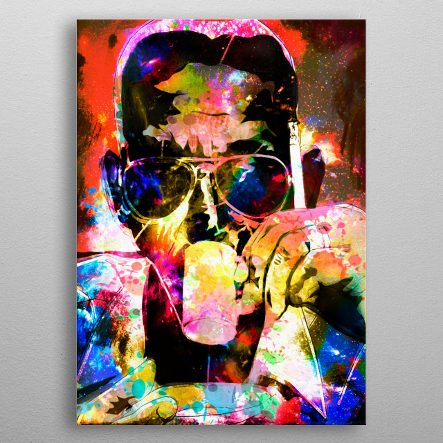 Art inspired by the life and work of this great composer, lyricist and musician. The Sambista Cartola metal poster
