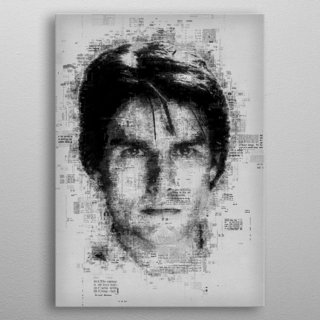 Tom Cruise  metal poster