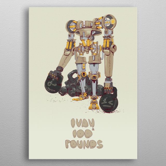 IBAN 10000 Pounds! metal poster